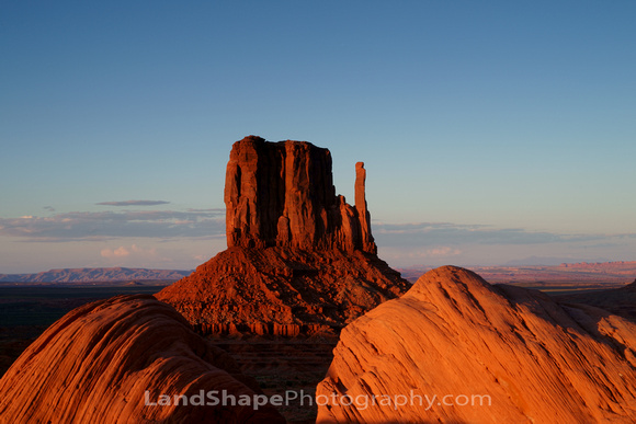 West Mitten in Monument Valley.