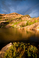 A Rainbow of Alta, Utah's Cercet Lake